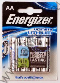 Energizer Ultimate Lithium 1,5В (AA, LR6, L91)