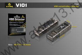тестер XTAR USB Detector (VI01)